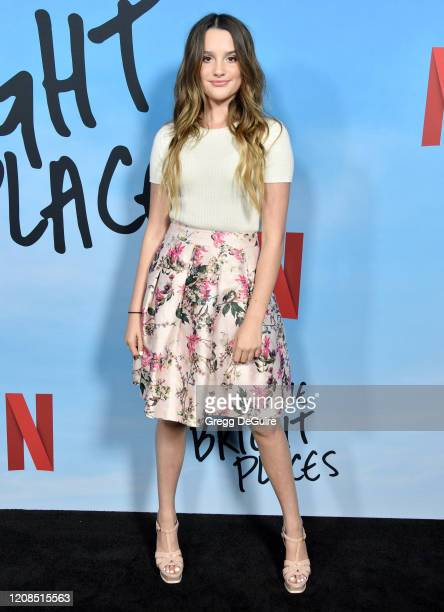 Annie LeBlanc attends the Special Screening Of Netflix's All The Bright Places at ArcLight Hollywood on February 24 2020 in Hollywood California