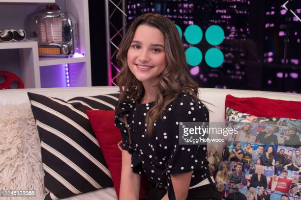 Annie LeBlanc visits the Young Hollywood Studio on April 25 2019 in Los Angeles California