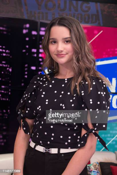 Annie LeBlanc visits the Young Hollywood Studio on April 25, 2019 in Los Angeles, California.