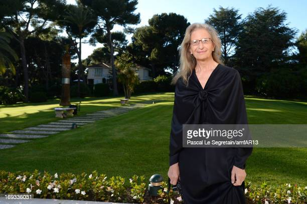 Annie Leibovitz attends amfAR's 20th Annual Cinema Against AIDS during The 66th Annual Cannes Film Festival at Hotel du CapEdenRoc on May 23 2013 in...