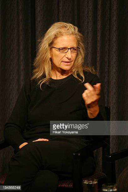 Annie Leibovitz during The Museum of Television & Radio Kicks off Documentary Festival with Annie Leibovitz at 7th Annual MTRDocFest at Museum of...