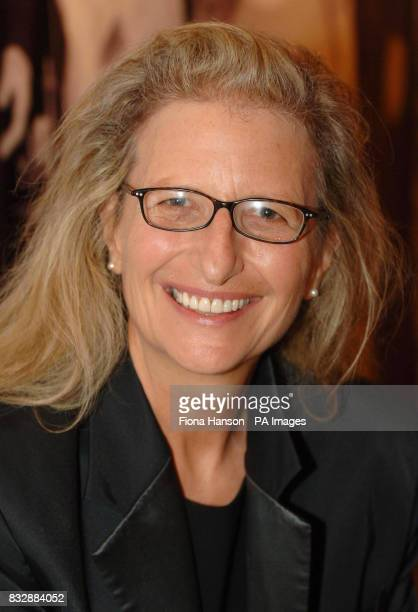 Annie Leibowitz during a reception for Americans in the UK hosted by Britain's Queen Elizabeth II ahead of the State visit to the US for which Miss...