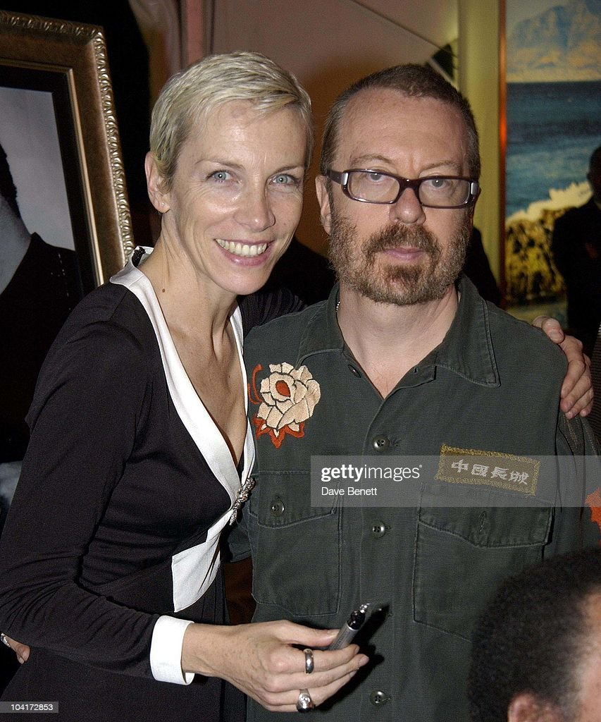 Annie Lennox And Dave Stewart, The Stars Of Rock And Roll Join Forces For Nelson Mandela's 46664 Concert In Cape Town, South Africa. In The Pre, Concert Build Up, This Evening A Gala Dinner Was Held At The Vergelegen Estate Outside Cape Town, South Africa Gears Up For Aids Awareness Mandela Concert 46664. The Concert Is In Association With Mtv's Staying Alive & Www.46664.com Powered By Tiscali.