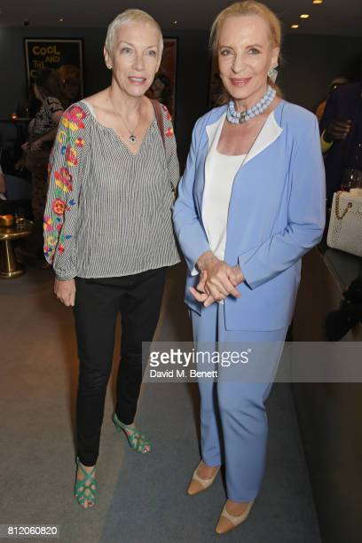 Annie Lennox and Princess Michael of Kent attend a special screening of In This Climate hosted by Liberatum and Kinetik supported by Amanda Eliasch...