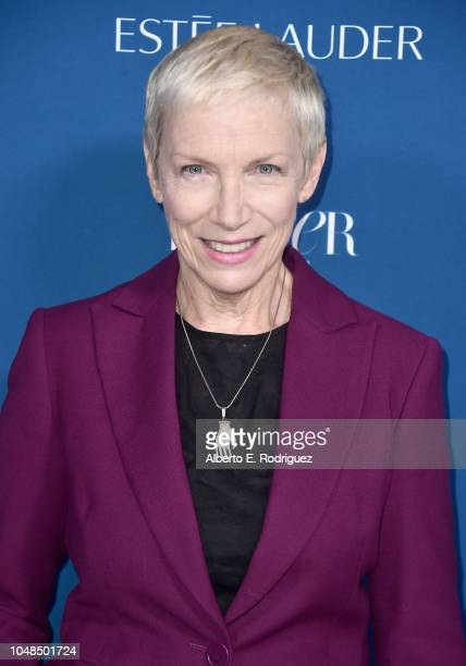 Annie Lennox attends PORTER's Third Annual Incredible Women Gala at The Ebell of Los Angeles on October 9 2018 in Los Angeles California