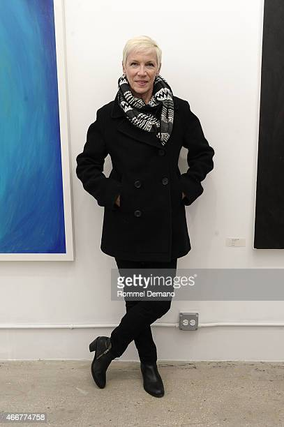 Annie Lennox attends the Tali Lennox Exhibition Opening Reception at Catherine Ahnell Gallery on March 18 2015 in New York City