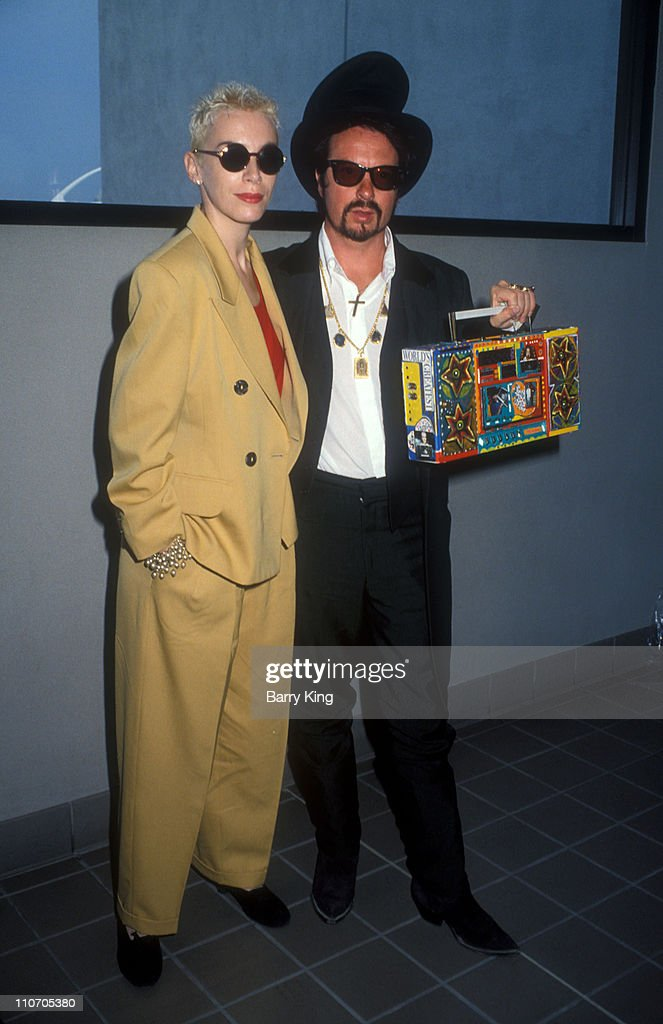 Eurythmics in Los Angeles to Promote Album