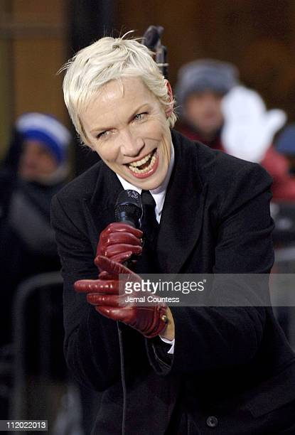 Annie Lennox during Eurythmics Perform on the 2005 NBC's The Today Show Holiday Concert Series at NBC Studios in New York City New York United States