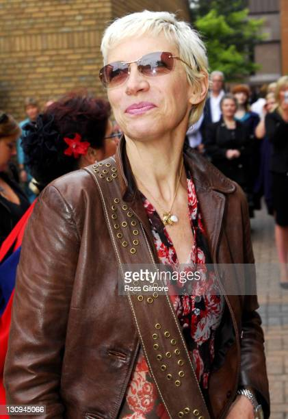Annie Lennox during Royal Scottish Academy of Music And Drama Honorary Degree Presentation July 4 2006 at Royal Scottish Academy of Music and Drama...