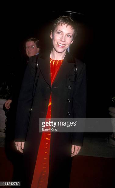 Annie Lennox during The 38th Annual GRAMMY Awards Arista Records PreGRAMMY Party at Beverly Hills Hotel in Beverly Hills California United States