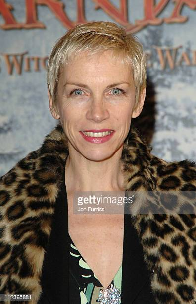 Annie Lennox during The Chronicles of Narnia The Lion The Witch and the Wardrobe London Premiere Inside Arrivals at Royal Albert Hall in London Great...