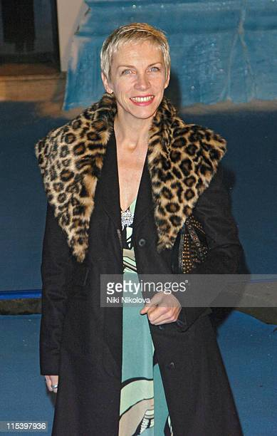 Annie Lennox during 'The Chronicles of Narnia The Lion The Witch and the Wardrobe' London Premiere at Royal Albert Hall in London Great Britain