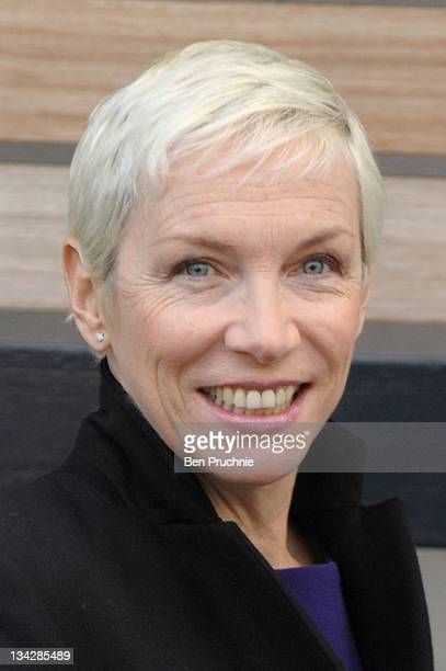 Annie Lennox is sighted in London on November 30 2011 in London England