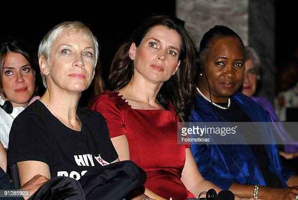 "Annie Lennox, Julia Ormond and Barbara Hendricks attend the ""Save The Children Awards"" ceremony, held at the Circulo de las Bellas Artes on September..."