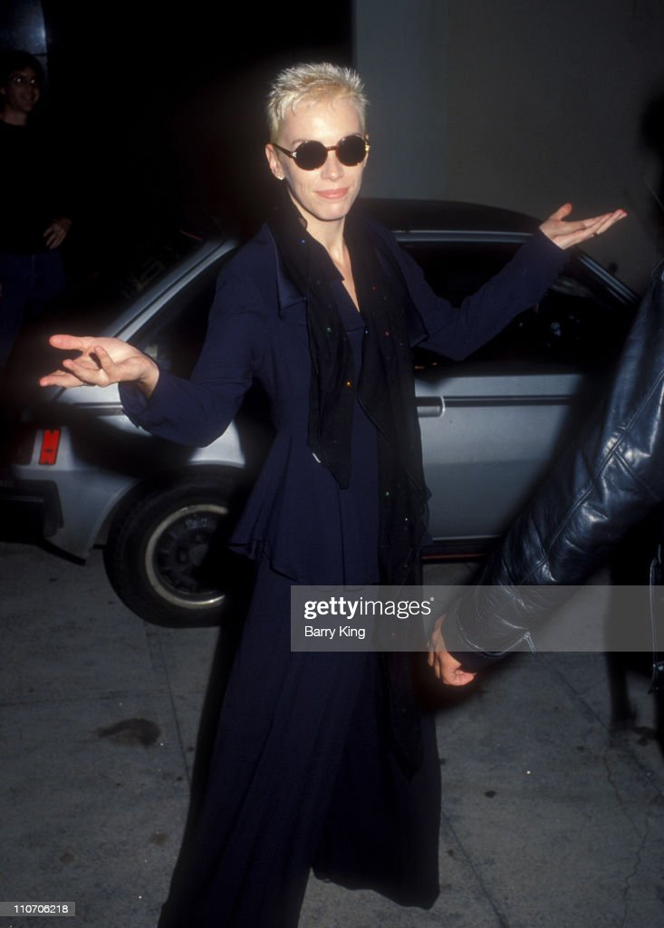 Eurythmics Concert at the Pantages Theater - August 28, 1989 : Nachrichtenfoto