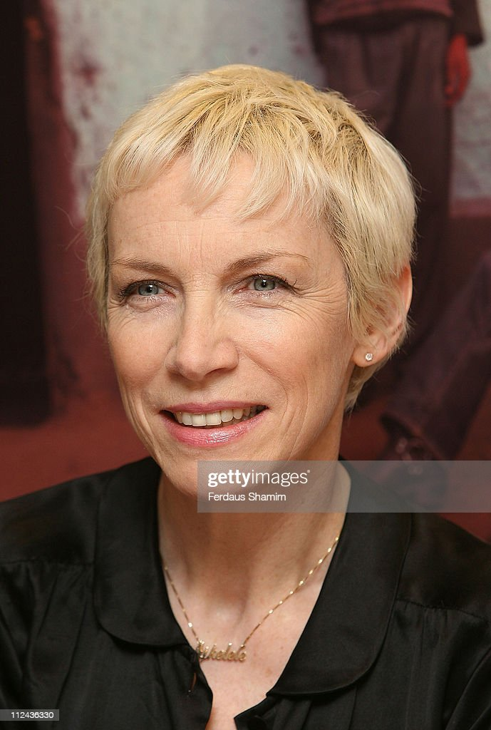 Annie Lennox Launches SING CD at Body Shop