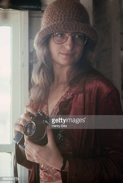 Annie Liebowitz With Camera