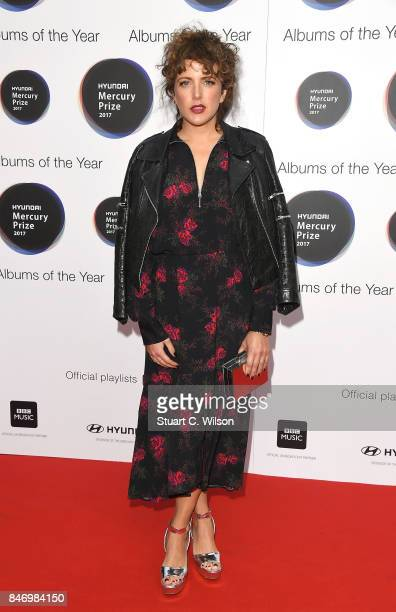 Annie Mac arrives at the Hyundai Mercury Prize 2017 at Eventim Apollo on September 14 2017 in London England