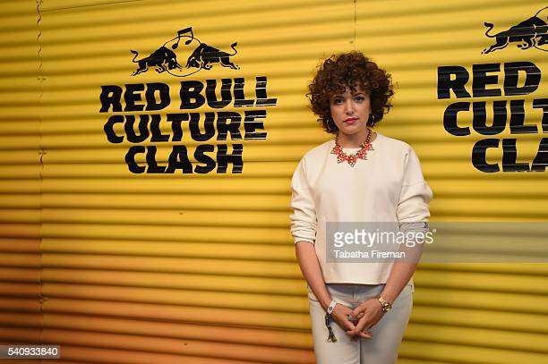 Annie Mac attends Red Bull Culture Clash at the O2 Arena on June 17 2016 in London England