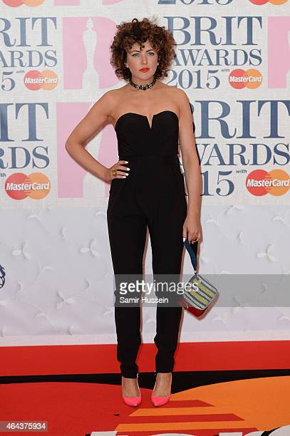 Annie Mac attends the BRIT Awards 2015 at The O2 Arena on February 25 2015 in London England