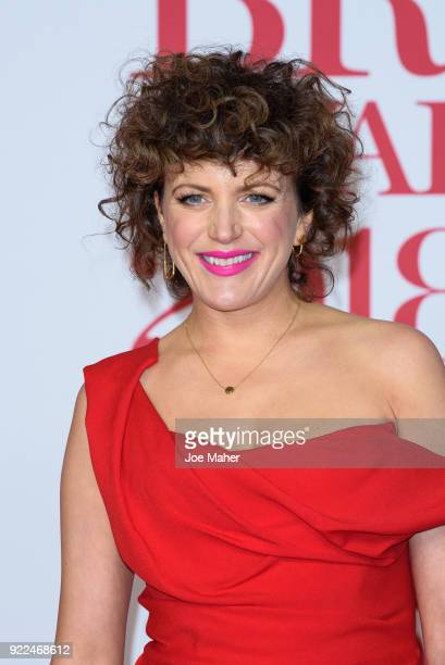 AWARDS 2018 *** Annie Mac attends The BRIT Awards 2018 held at The O2 Arena on February 21 2018 in London England