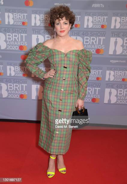 Annie Mac attends The BRIT Awards 2020 at The O2 Arena on February 18, 2020 in London, England.