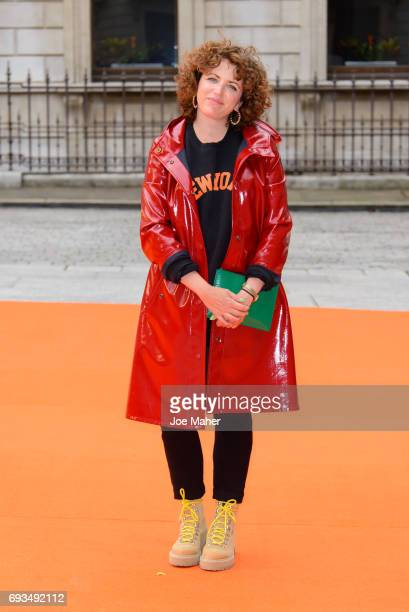 Annie Mac attends the preview party for the Royal Academy Summer Exhibition at Royal Academy of Arts on June 7 2017 in London England