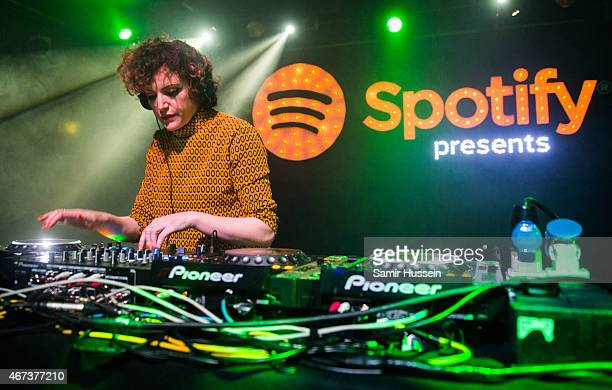Annie Mac performs at the Spotify Opening Gig as part of Advertising Week Europe on March 23 2015 in London England