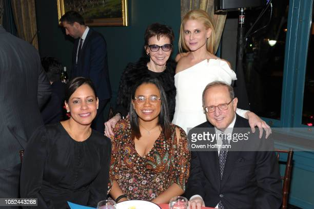 Annie Martinez Ambar Paredes Franny Zorn Katie Zorn and Dick Zorn attends the Fountain House Fall Fete at The New York Racquet and Tennis Club on...