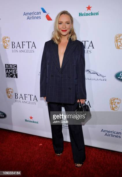Annie Maude Starke arrives to the BAFTA Tea Party at The Four Seasons Hotel Los Angeles at Beverly Hills on January 05 2019 in Beverly Hills...