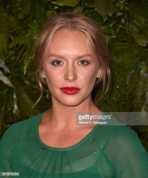 Annie Maude Starke attends Max Mara Women In Film Face of the Future at Chateau Marmont on June 12 2018 in Los Angeles California