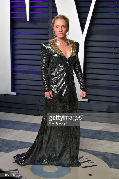 Annie Maude Starke attends the 2019 Vanity Fair Oscar Party hosted by Radhika Jones at Wallis Annenberg Center for the Performing Arts on February 24...