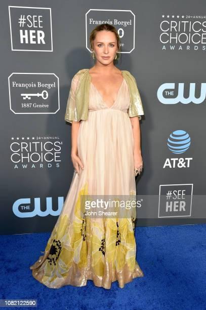 Annie Maude Starke attends the 24th Annual Critics' Choice Awards at Barker Hangar on January 13 2019 in Santa Monica California