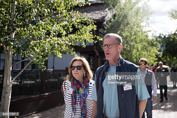 Annie McChrystal and husband Stanley McChrystal retired US Army general and former commander of Joint Special Operations Command attends the annual...