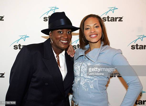 Annie McKnight and Iva La'Shawn during Martin Lawrence Presents The 1st Amendment StandUp Comedy Show for Starz at The Improv in San Jose California...