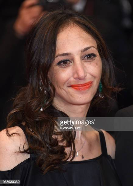 Annie Mitchell attends the screening of Under The Silver Lake during the 71st annual Cannes Film Festival at Palais des Festivals on May 15 2018 in...