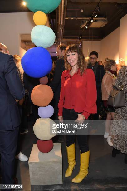 Annie Morris attends the 21st Century Women VIP preview at Unit London Mayfair London on October 3 2018 in London England