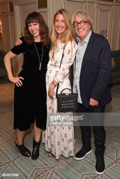 Annie Morris Georgina Cohen and Frank Cohen attend the Fortnum's x Frank private viewing at Fortnum Mason on September 27 2017 in London England