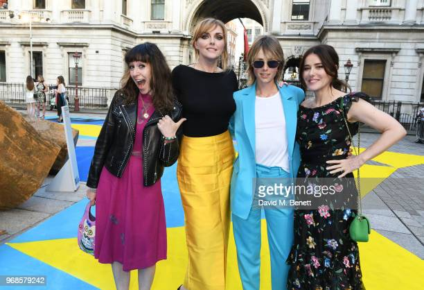 Annie Morris Sophie Dahl Edie Campbell and Lisa Eldridge attend the Royal Academy Of Arts summer exhibition preview party 2018 on June 6 2018 in...