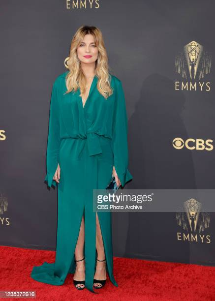 Annie Murphy attends the 73RD EMMY AWARDS on Sunday, Sept. 19 on the CBS Television Network and available to stream live and on demand on Paramount+.