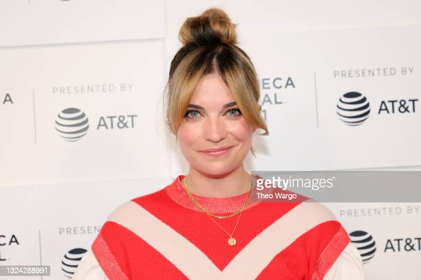 """Annie Murphy attends the """"Kevin Can F Himself"""" premiere during the 2021 Tribeca Festival at Hudson Yards on June 18, 2021 in New York City."""
