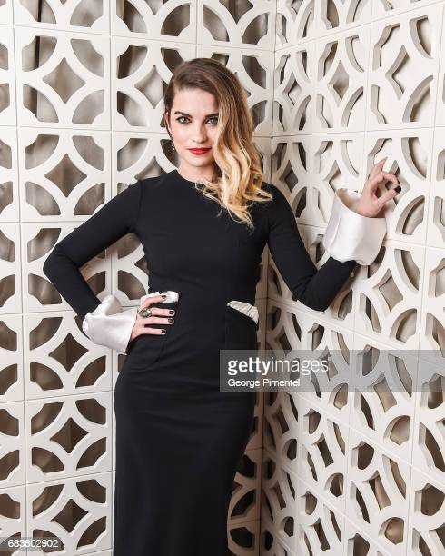 Annie Murphy poses at the 2016 Canadian Screen Awards Portrait Studio at the Sony Centre for the Performing Arts on March 13 2016 in Toronto Canada