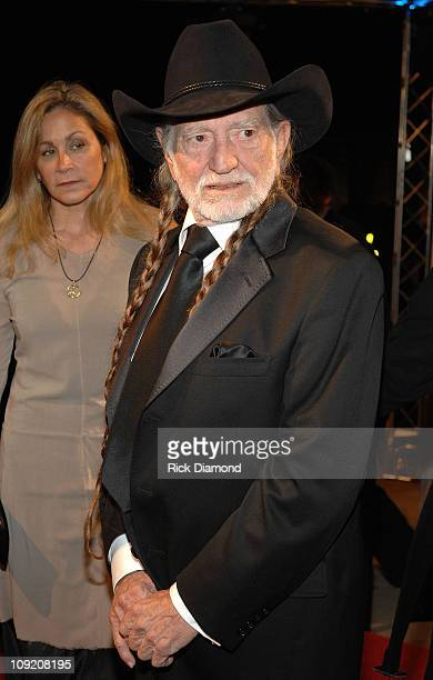 Annie Nelson and Singer/songwriter Willie Nelson arrives at the BMI Country Awards and reception honoring Willie Nelson at the BMI building on...