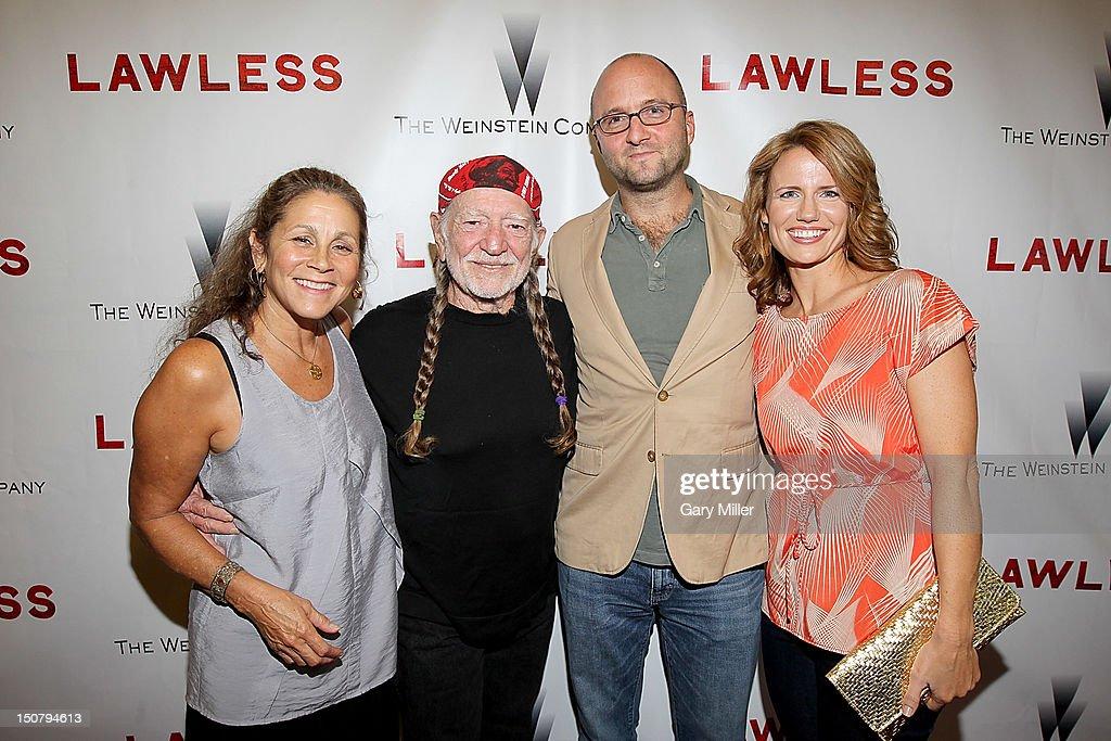 Lawless Premiere With Willie Nelson And Matt Bondurant : News Photo