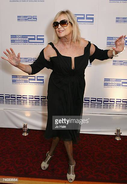 Annie Nightingale arrives at the Sony Radio Awards honours the best in radio broadcasting talent at the Grosvenor House Hotel on April30 2007 in...