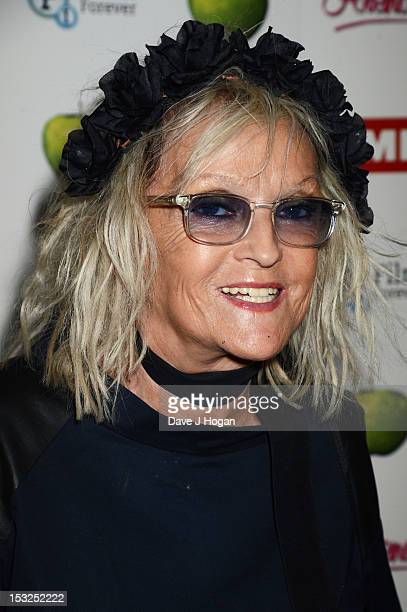 Annie Nightingale attends a gala screening of Magical Mystery Tour at The BFI Southbank on October 2 2012 in London England