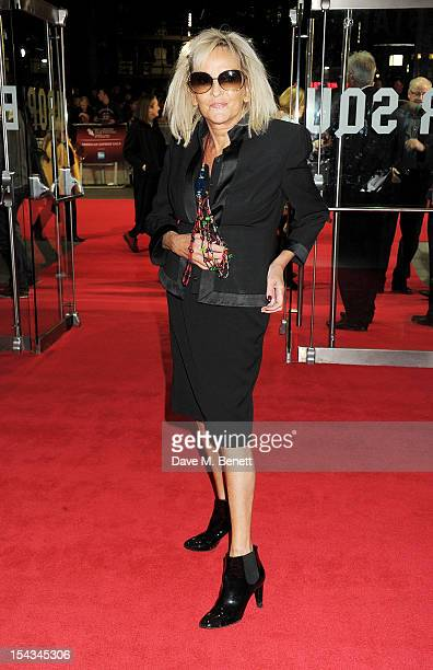 Annie Nightingale attends the Gala Premiere of 'Crossfire Hurricane' during the 56th BFI London Film Festival at Odeon Leicester Square on October 18...