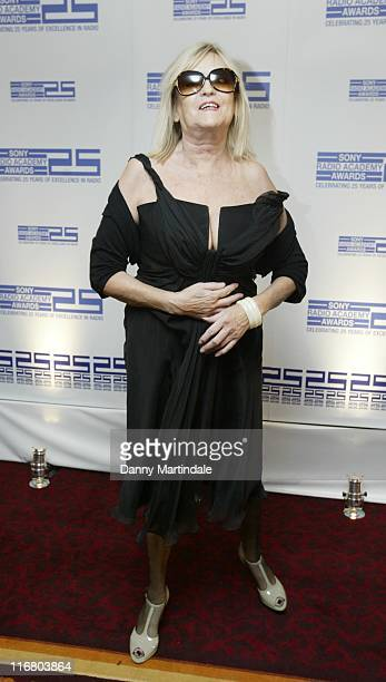 Annie Nightingale during 2007 Sony Radio Academy Awards Arrivals at Grosvenor House Hotel in London Great Britain