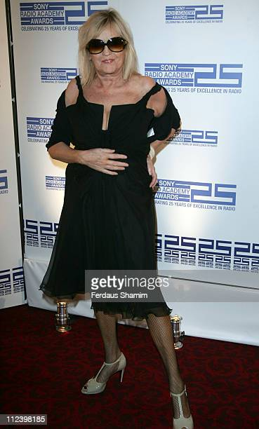 Annie Nightingale during Sony Radio Academy Awards 2007 Outside Arrivals at Grosvenor House Hotel in London United Kingdom