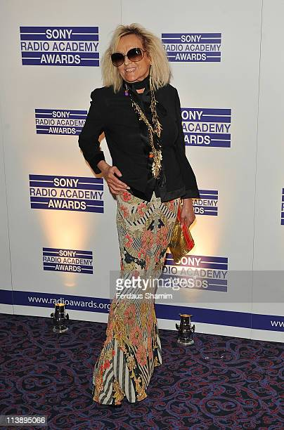 Annie Nightingale is seen at the Sony Radio Academy Awards at The Grosvenor House Hotel on May 9 2011 in London England
